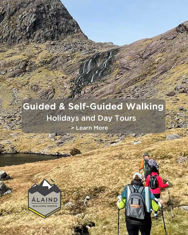 Self-guided and Guided Walking Holiday in Sneem, County Kerry