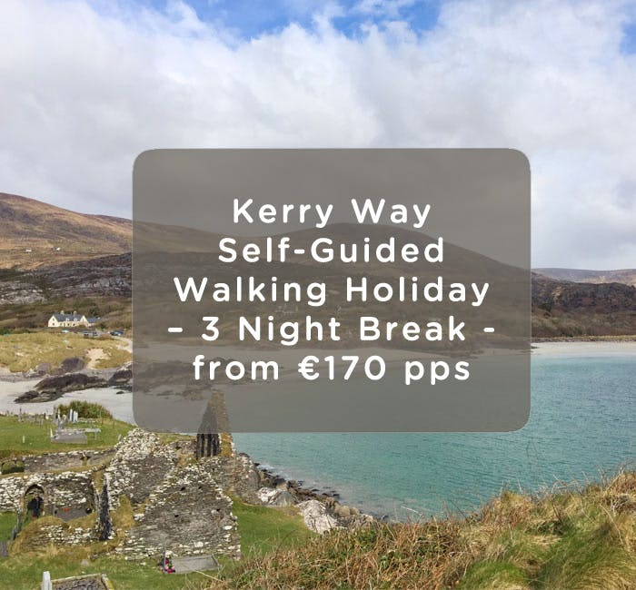 Self-guided Kerry Way Walking Holiday at Alaind Lodges