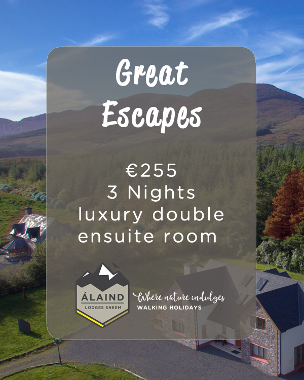 Book a three night B&B special for €255
