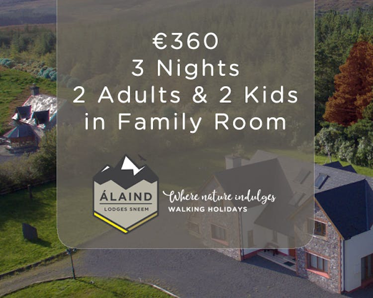 Family of Four 3 Night Special Offer at Alaind Lodges