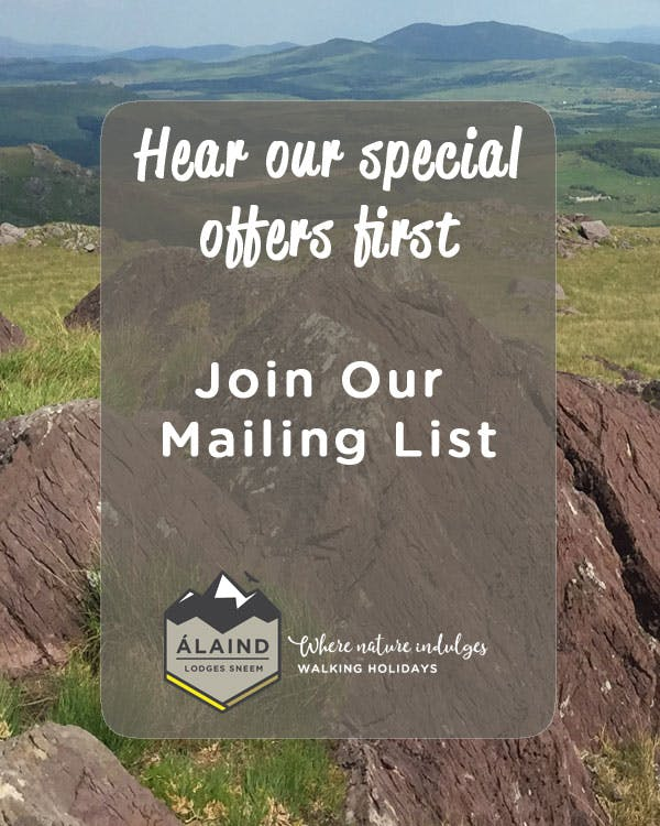 Hear our special offers first - join our mailing list