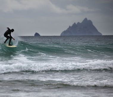 Skellig Michael Star Wars Island Backdrop Surfing
