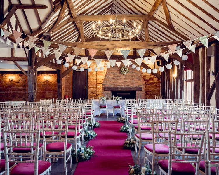 Barn civil ceremony Berkshire
