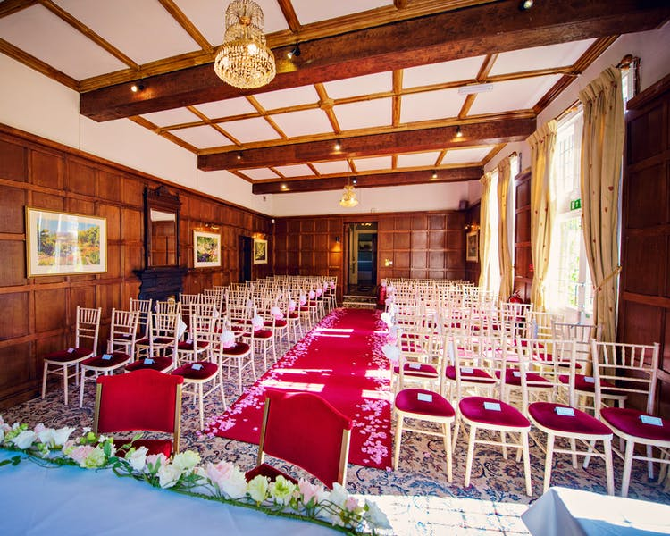 Oak Room. Civil Ceremony venue Berkshire
