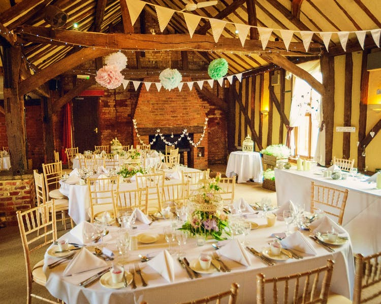 Barn wedding venue near Reading