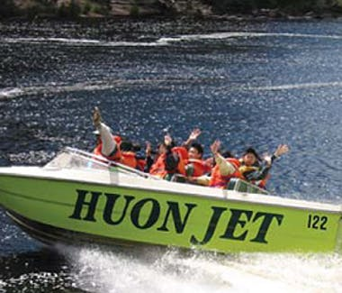 Huon Jet Boat Huonville, Tasmania 5 mins from Hillside Bed & Breakfast