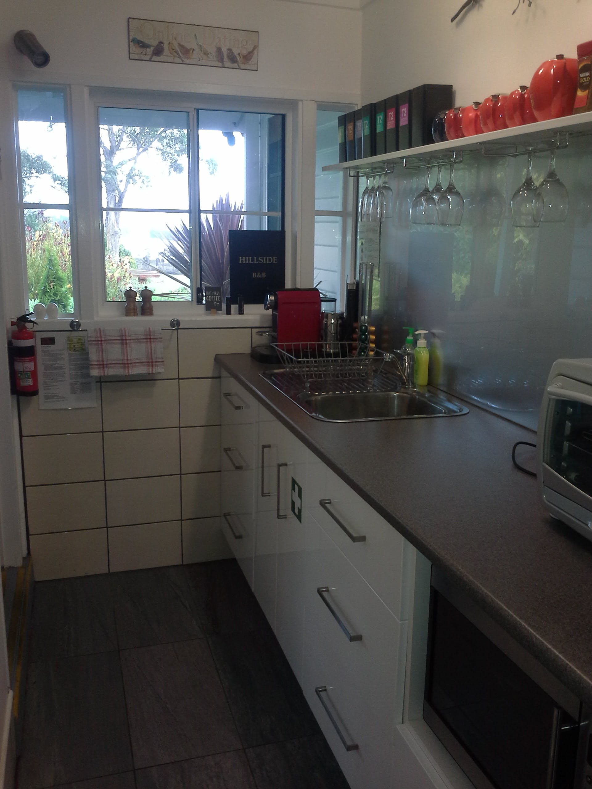Garden Room Kitchenette