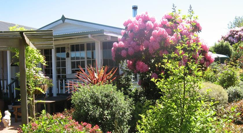 Springtime at Hillside Bed & Breakfast Huonville Tasmania hillsidebedandbreakfasthuonvalley.com