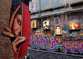 Street Art around Melb