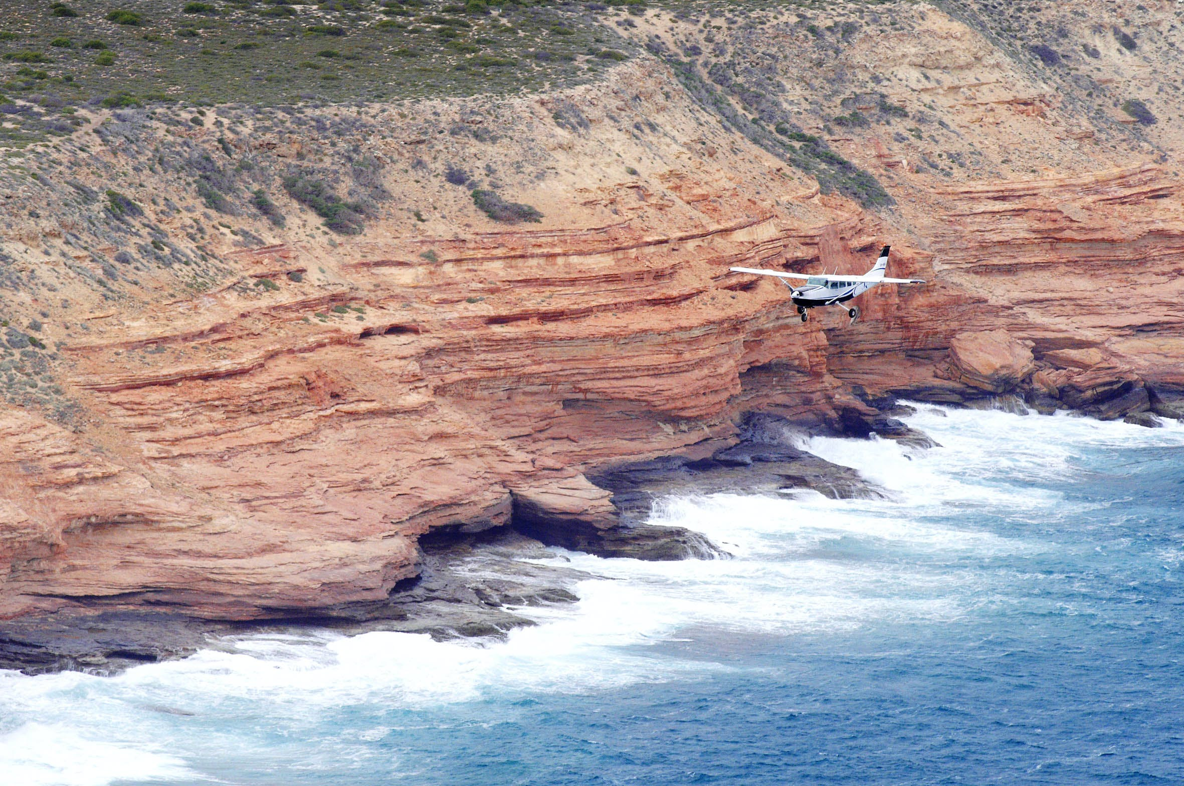 Kalbarri scenic flights - Blue Ocean Beach Resort