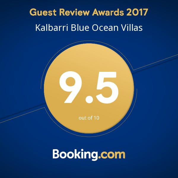 Looking for booking.com Kalbarri ? Blue Ocean Villas awarded 9.5 out of 10 for accommodation in Kalbarri, WA