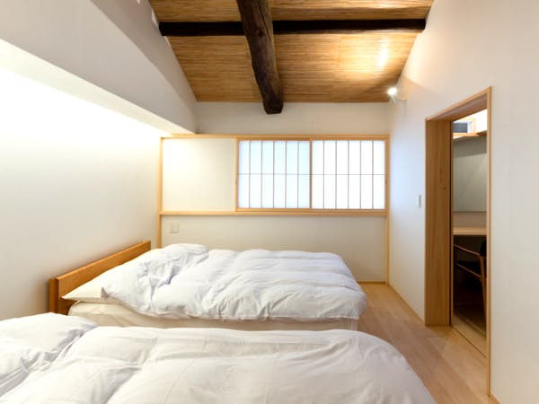 BenTen Residences Machiya in Kyoto - Western Bedroom