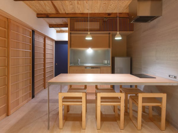 BenTen East Machiya in Kyoto - Fully-fitted kitchen