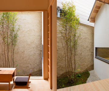 BenTen West Machiya in Kyoto - Garden
