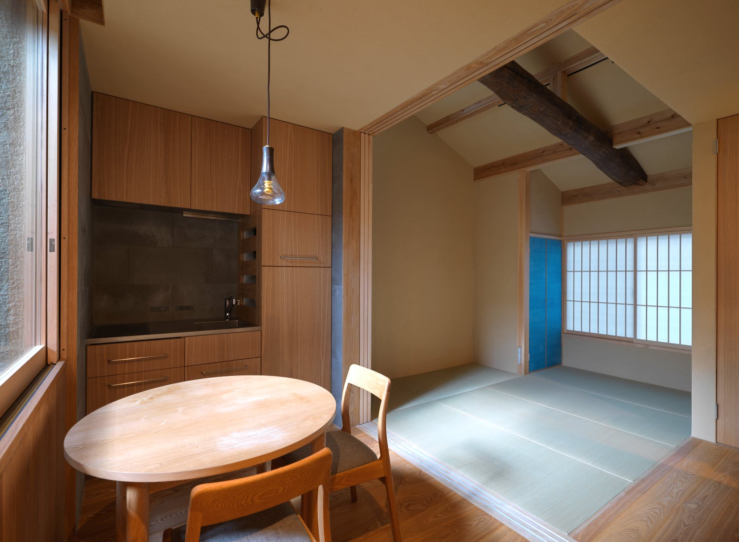 Kyoto Komatsu Residences - 1-room apartment featuring handcrafted fittings