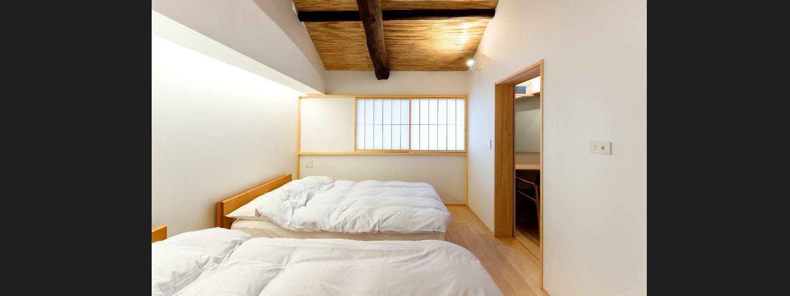 BenTen West Machiya in Kyoto - 2F Western Bedroom