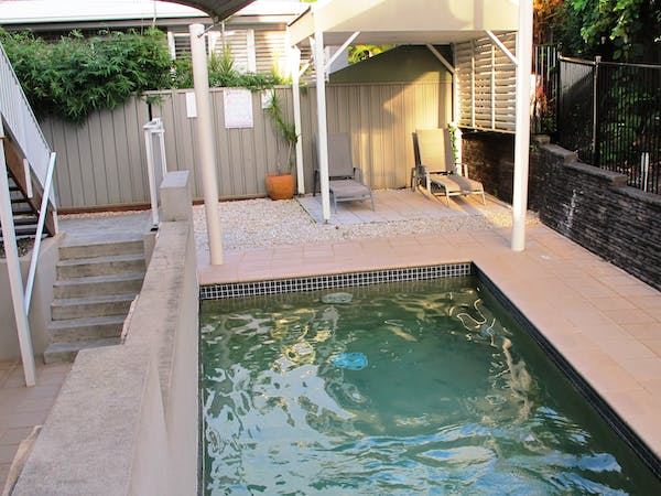 Jet pool available to all guests