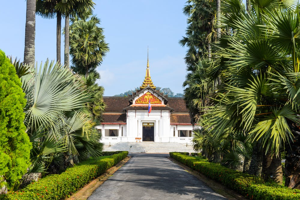 Luang Prabang national museum royal palace