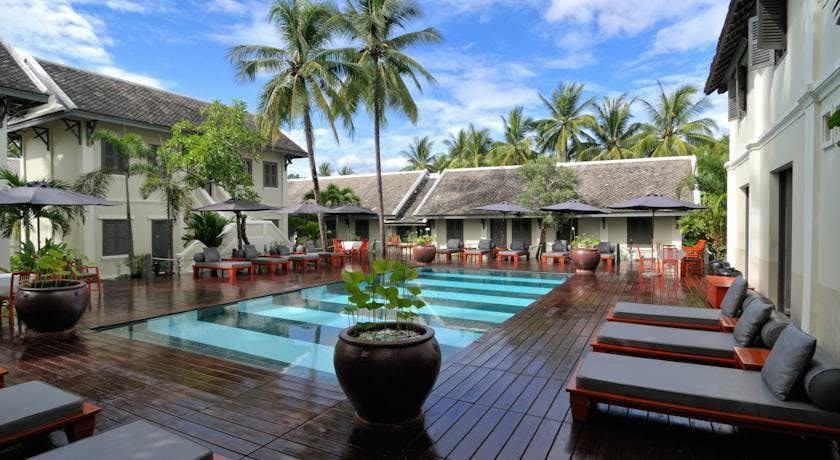Villa Maly Luang Prabang swimming pool