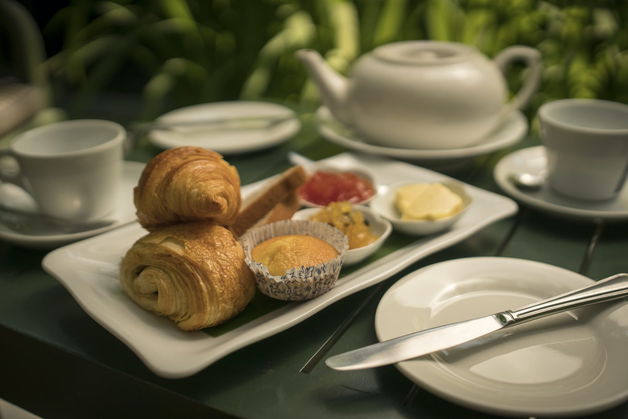 Villa Maly breakfast