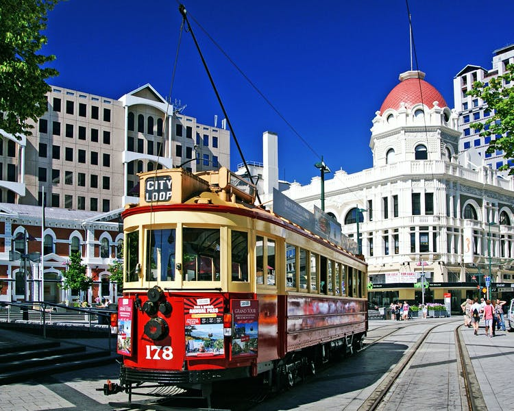 Christchurch City Historic Tram