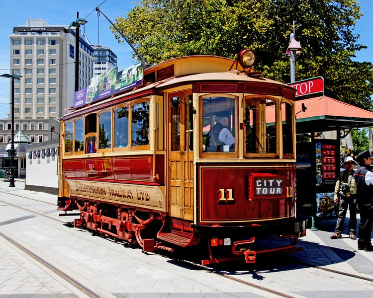Christchurch CBD Tram