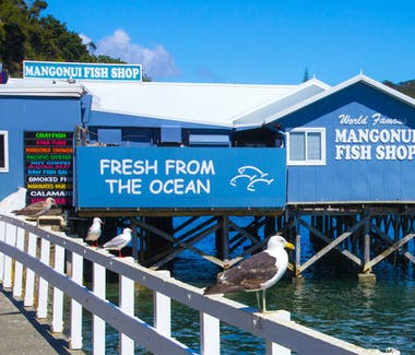 Mangonui, Fish Shop, Doubtless Bay