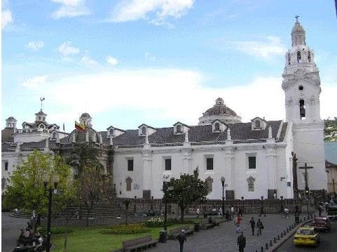 The Cathedral of Quito