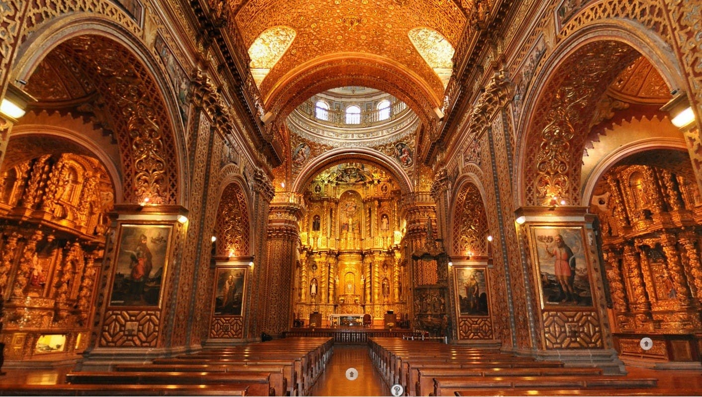 Interior of the Church of the Society of Jesus