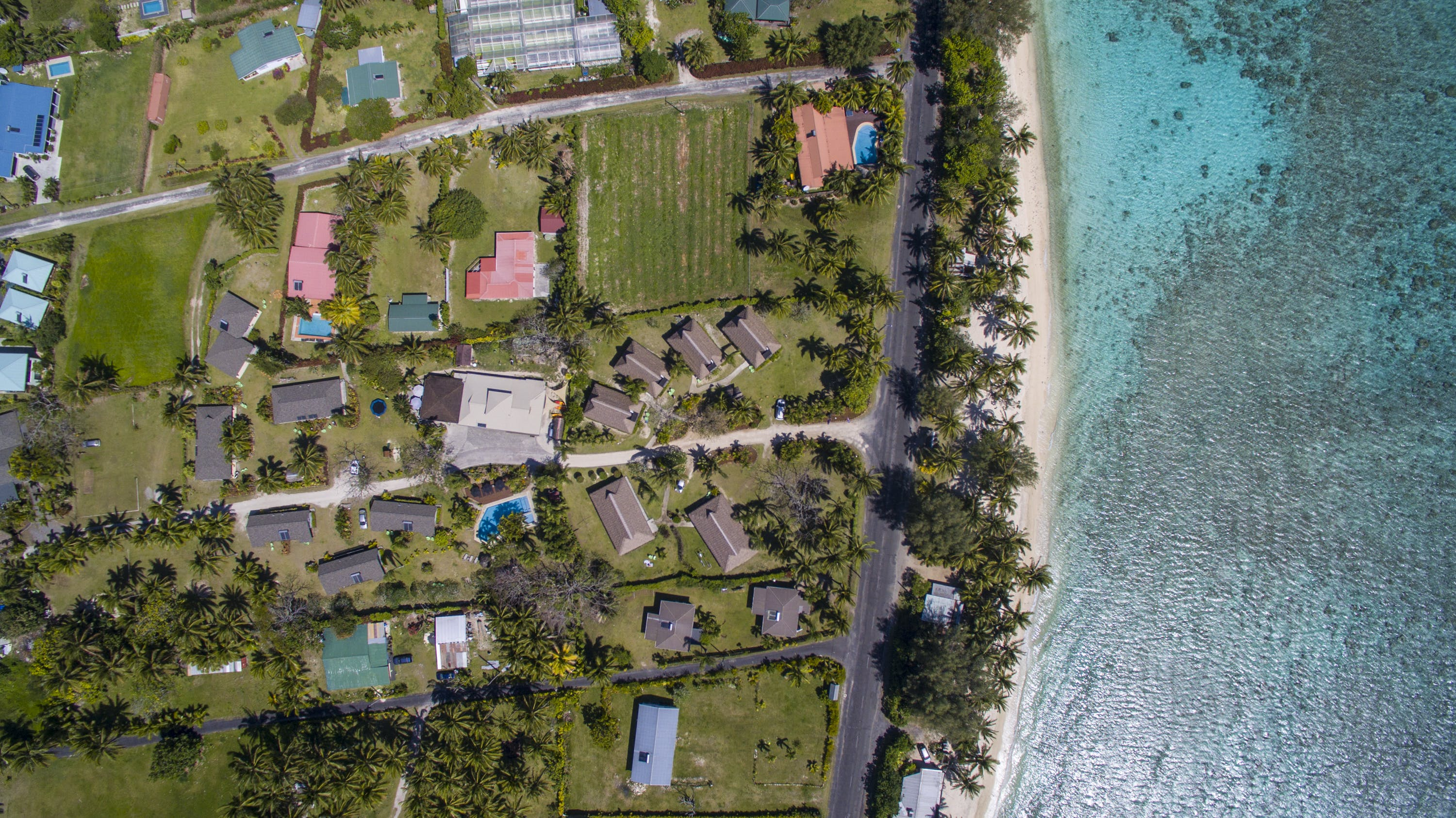 Aerial View of Lagoon Breeze Villas