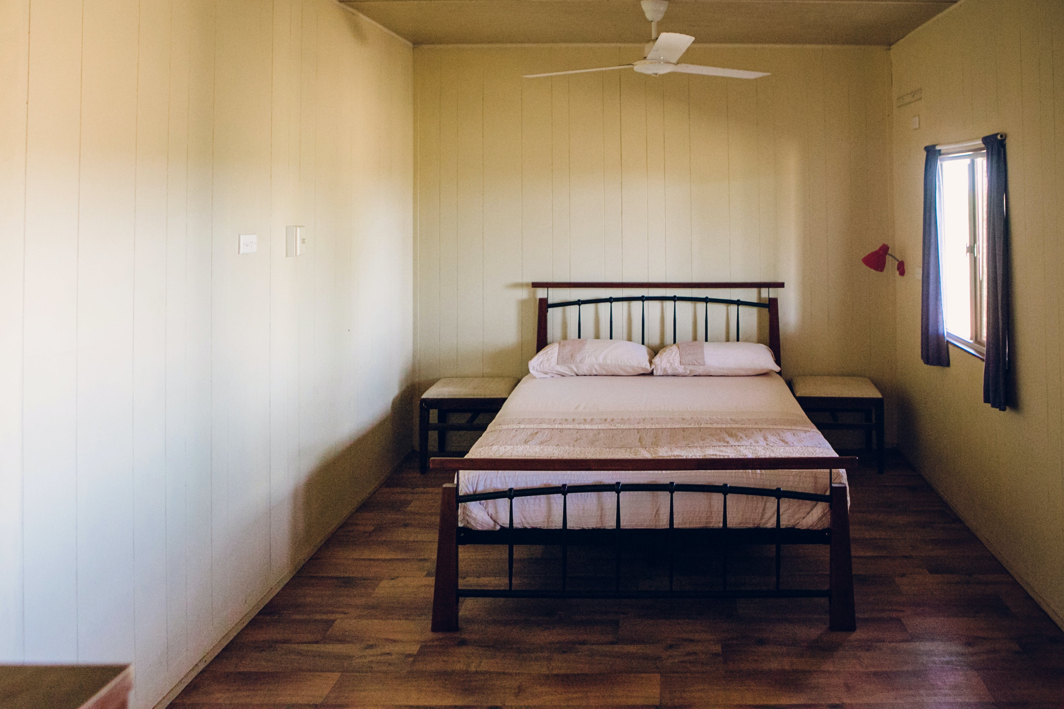 Warroora accommodation - The Cottage bedroom