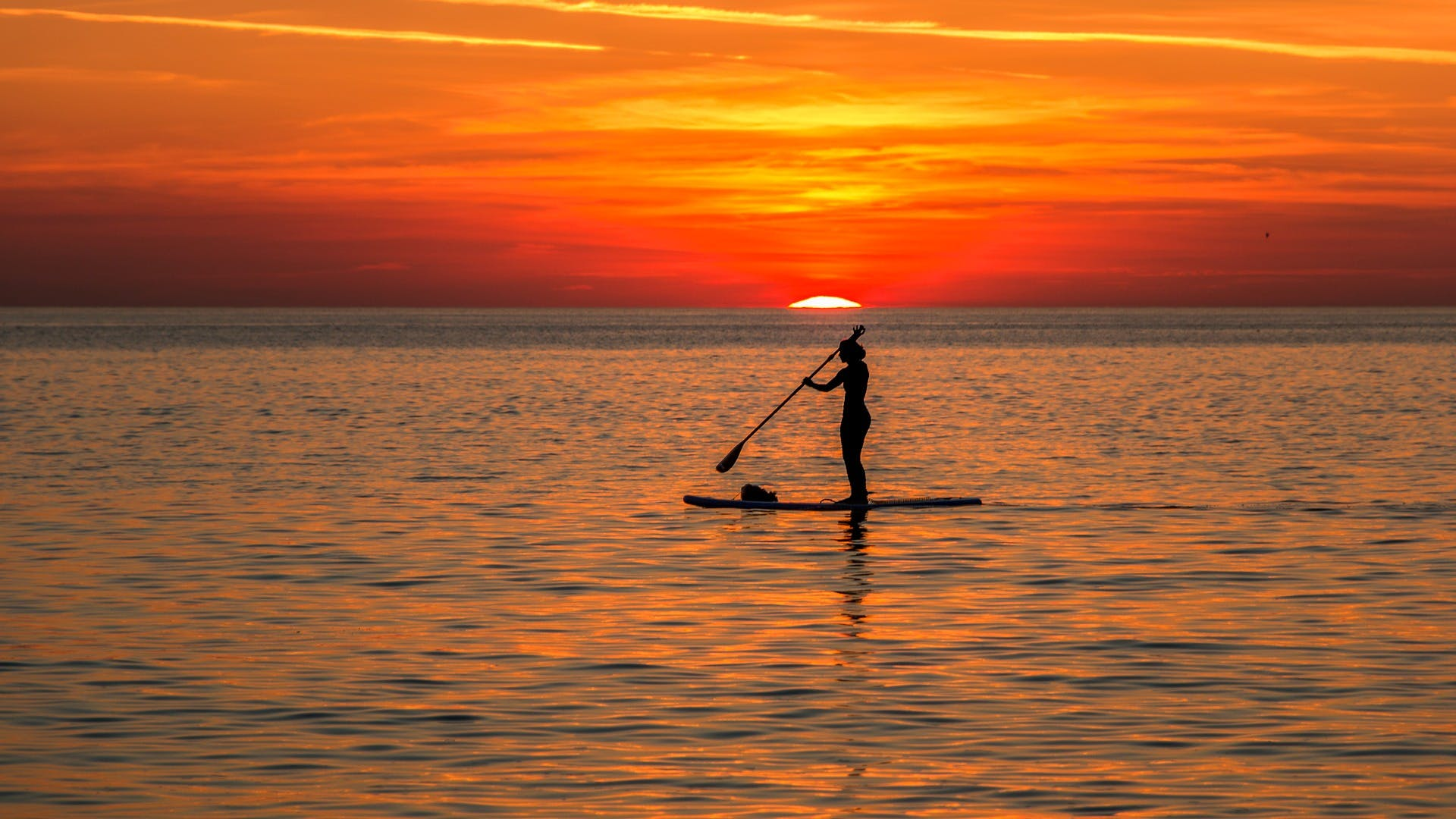 Paddle boarding at Steven's - Warroora