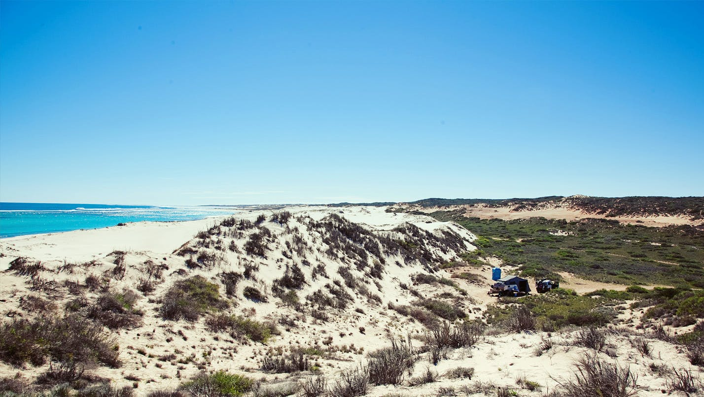 Warroora Secluded beachside camping