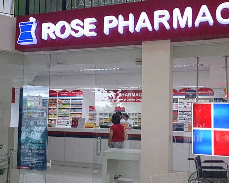 Rose Pharmacy, one of the biggest chains in the country.