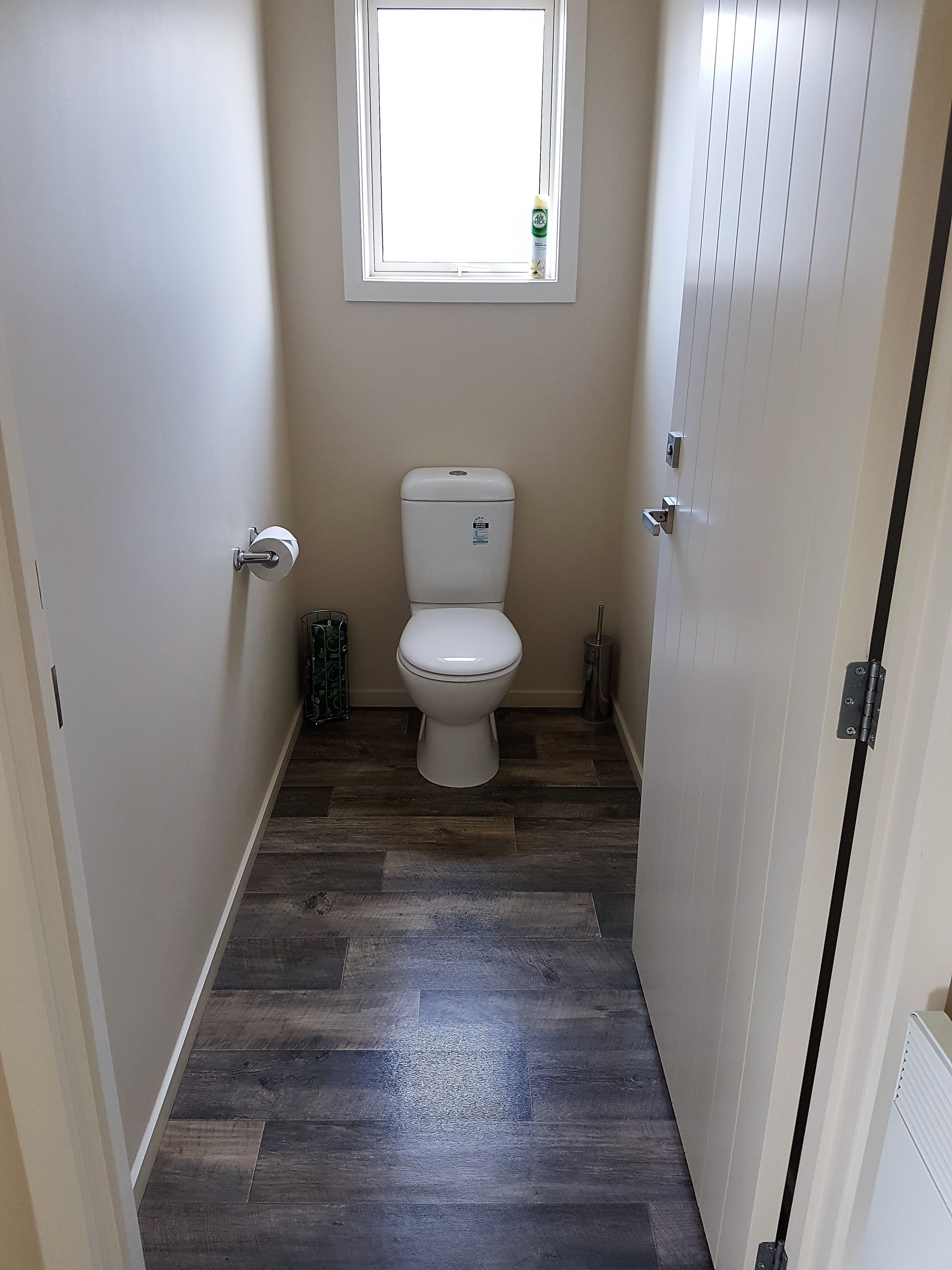 Upstairs two bedroom toilet