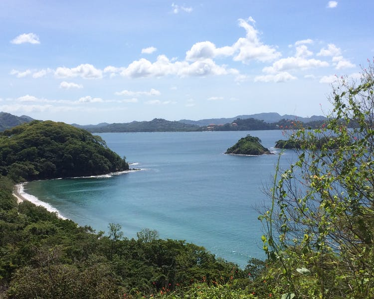 Breathtaking view on the road to Playa Danta