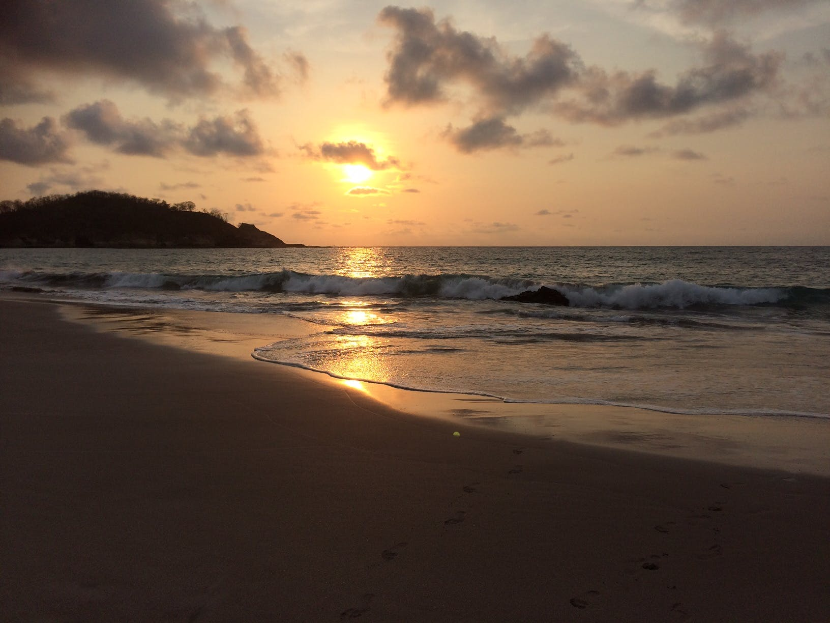 Playa Minas sunset