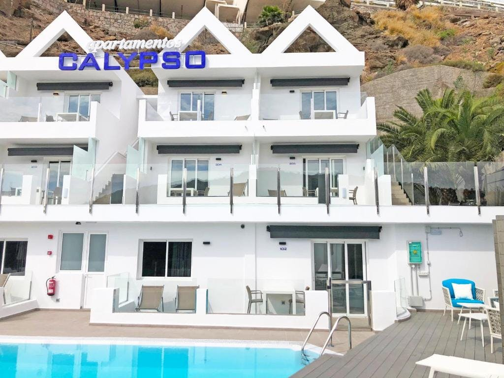 Outdoor view of Calypso Boutique Apartments