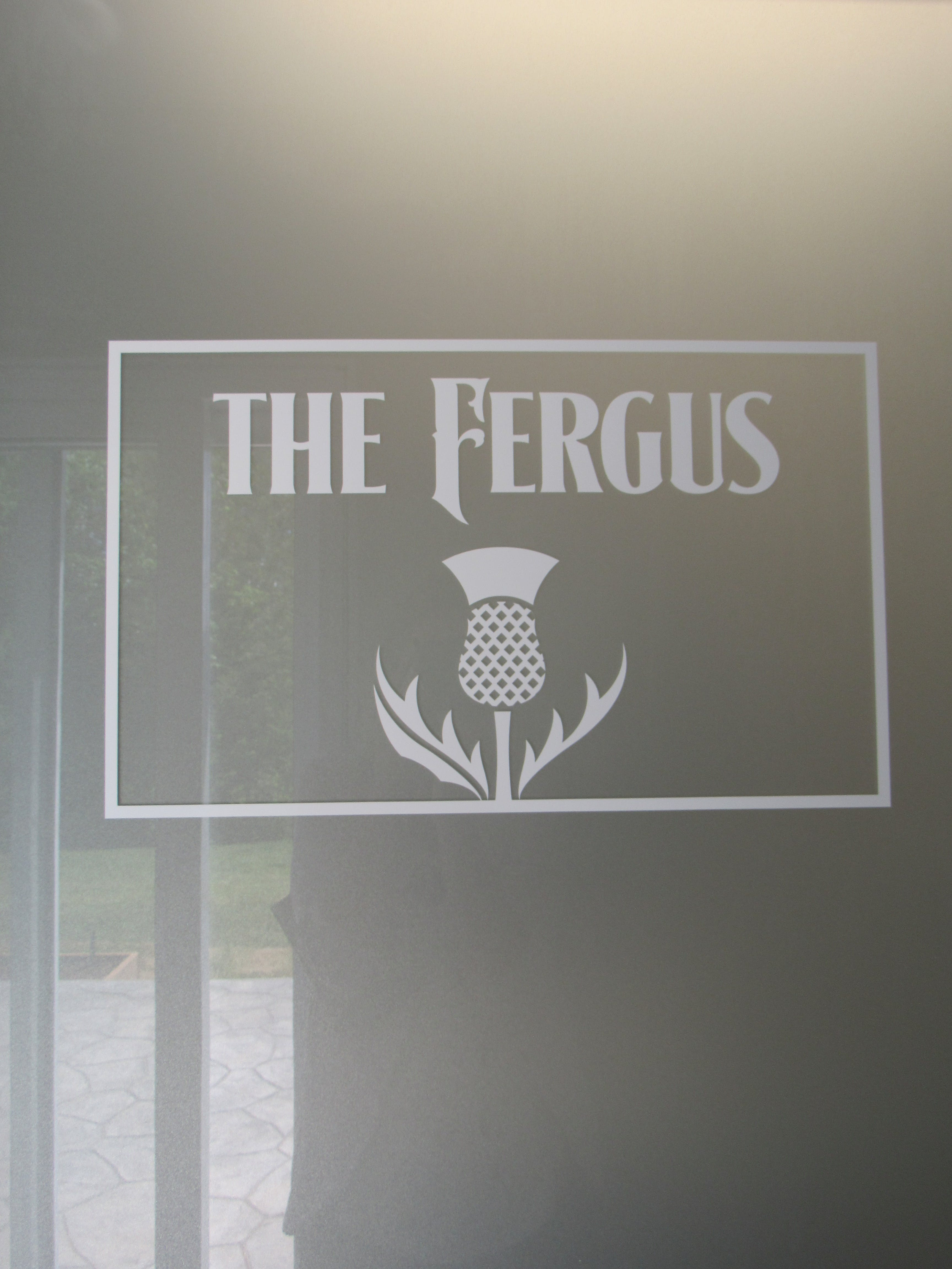 Entrance to the Fergus Suite bathroom.
