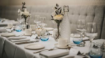 Wedding Table at The Florence Arms Gastro Pub Portsmouth