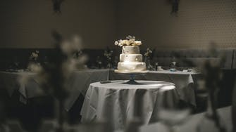 Wedding Cake at The Florence Arms Gastro Pub Portsmouth Southsea