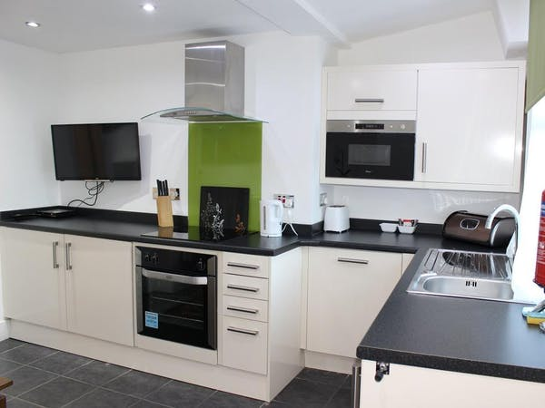 One bedroom Apartment - Kitchen with Living and Dinning area