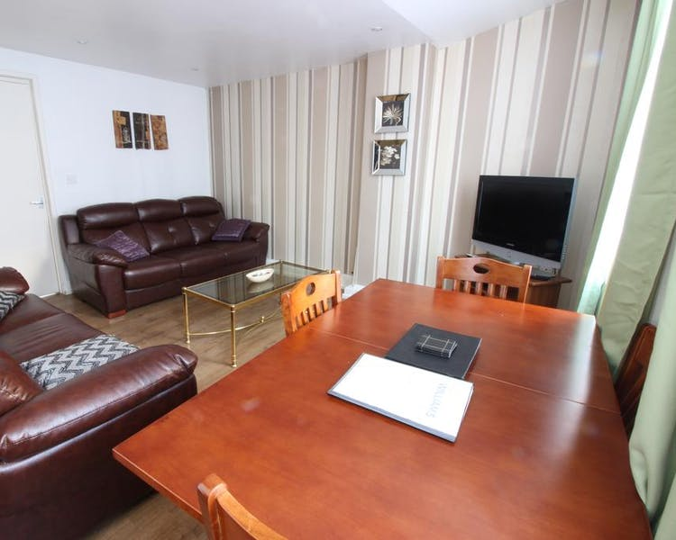 Three bedroom Economy Apartment - Living/Dinning room