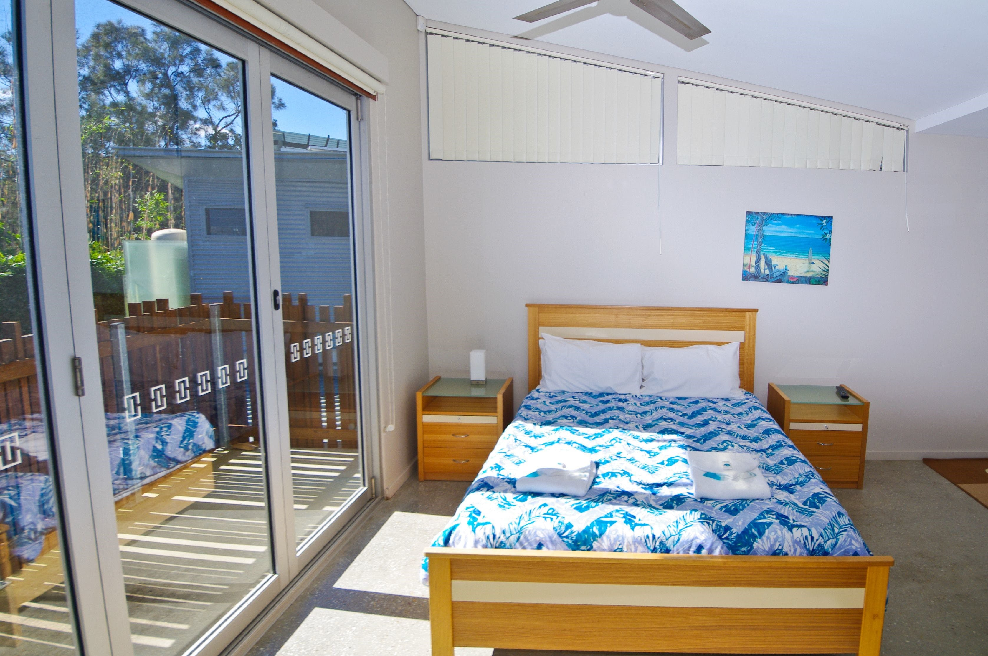 Crescent Head Sun Worship Eco Villas Upstairs Bedroom