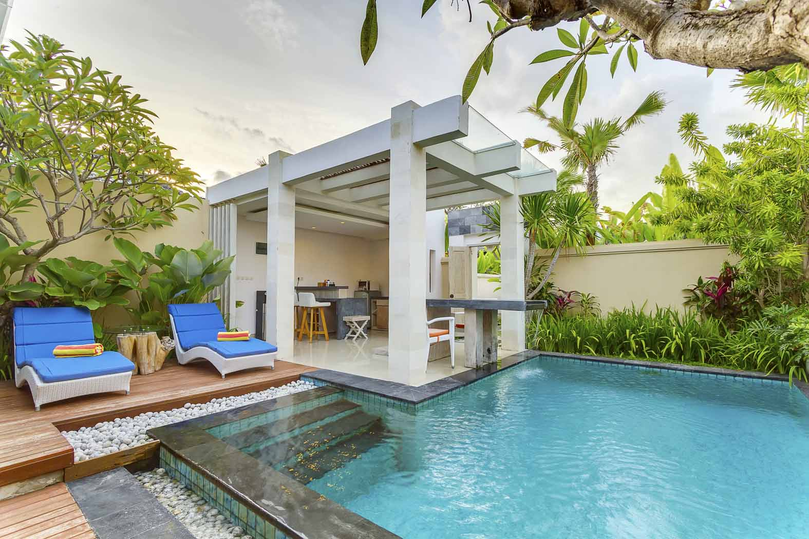 Private Villa Seminyak Bali The Tukad Villa