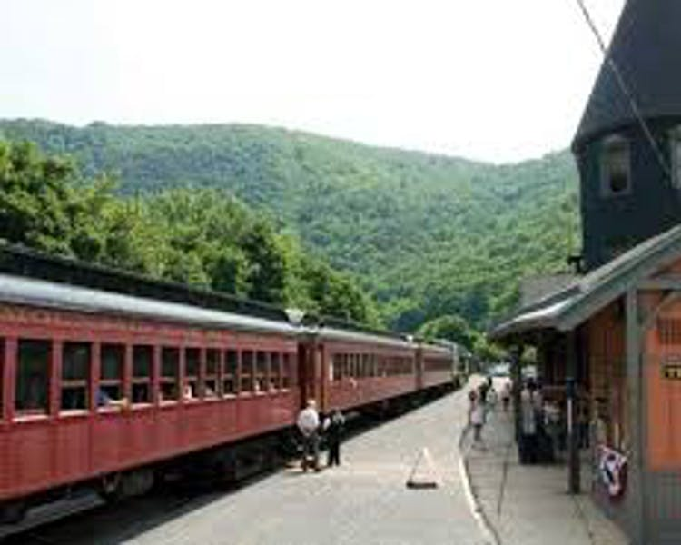 Visit historic Jim Thorpe; and catch a train ride