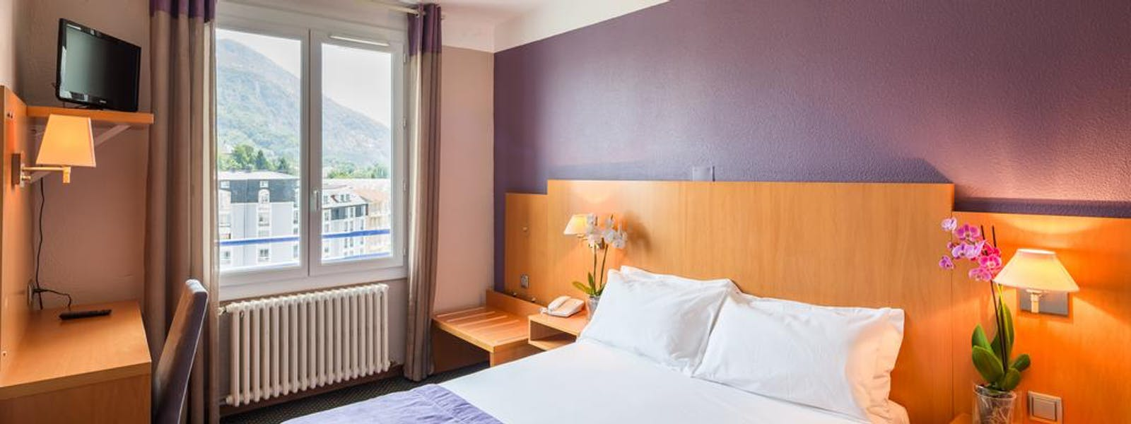 QUALITY HOTEL CHRISTINA LOURDES CHAMBRE DOUBLE SINGLE