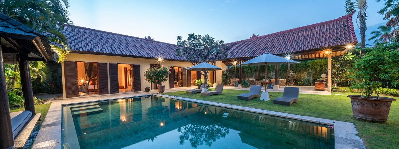 Swimming Pool Villa Rumi Bali