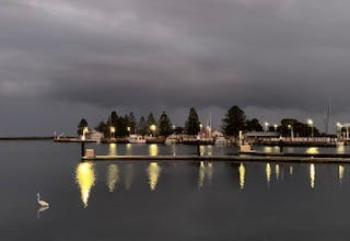 Port Albert Harbour at dusk