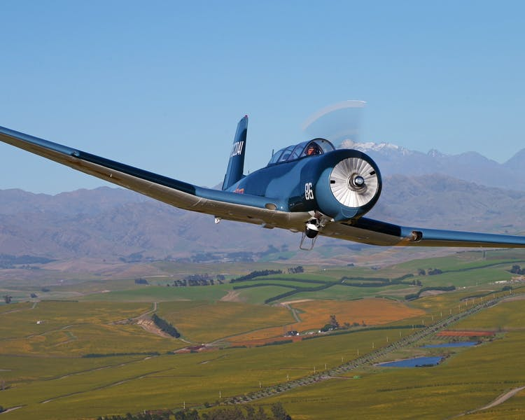 Our beautifully restored Nanchang CJ6 inflight